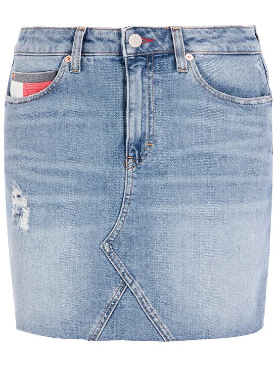 Tommy Jeans Tommy Jeans Džinsinis sijonas Denim Akr DW0DW07683 Mėlyna Regular Fit