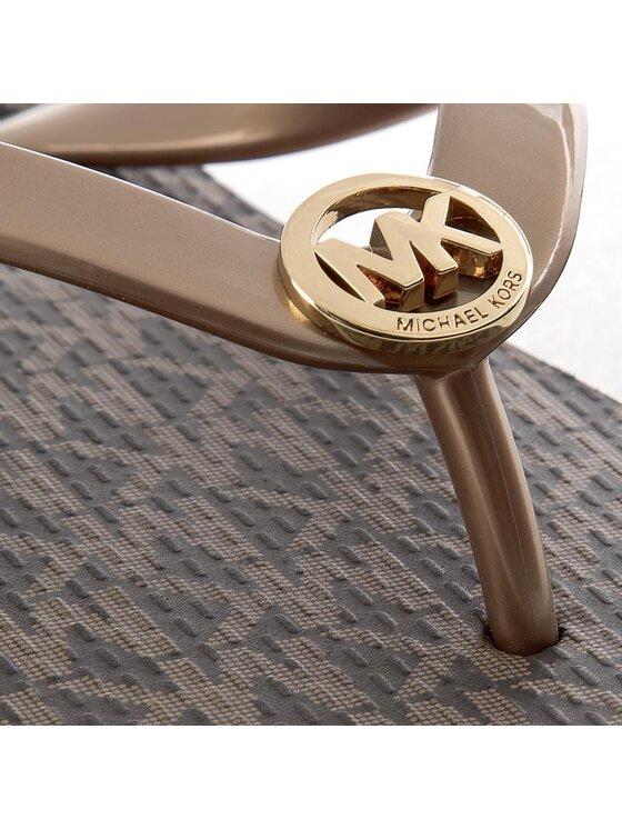 MICHAEL Michael Kors MICHAEL Michael Kors Infradito Mk Flip Flop Stripe Eva 40S7MKFA4Q Oro