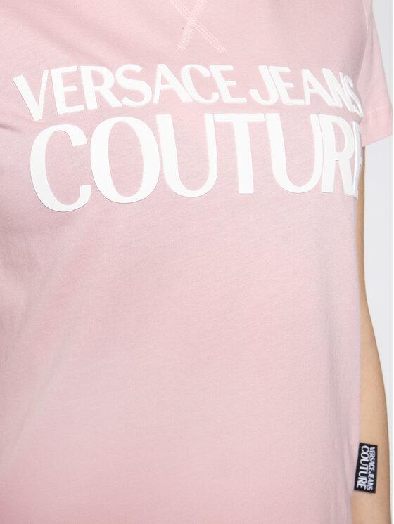 Versace Jeans Couture Versace Jeans Couture T-Shirt B2HVA7X0 Rosa Regular Fit