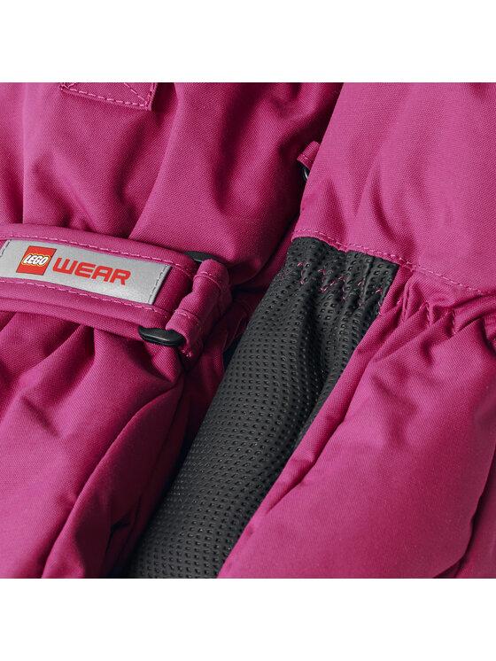 LEGO Wear LEGO Wear Rękawice narciarskie Lwalfred 706 21523 Różowy
