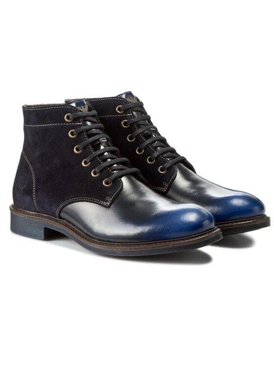 Armani Jeans Armani Jeans Csizma B6586 63 L8 Sötétkék