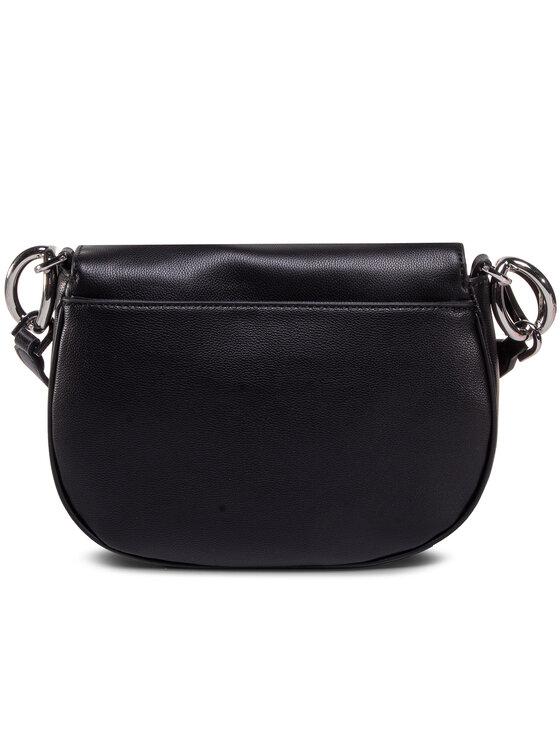 Calvin Klein Calvin Klein Torebka Ck Chain Saddle Bag K60K606686 Czarny