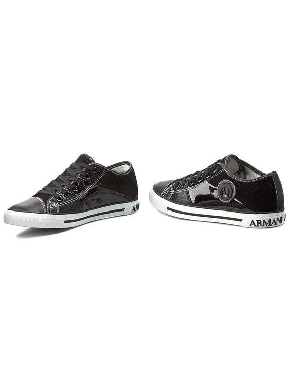 Armani Jeans Armani Jeans Chaussures basses C55A5 34 12 Noir