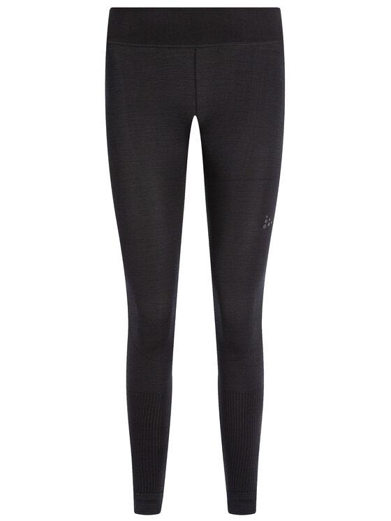 Craft Craft Legíny Fuseknit Comfort Pants 1906595 Čierna Slim Fit
