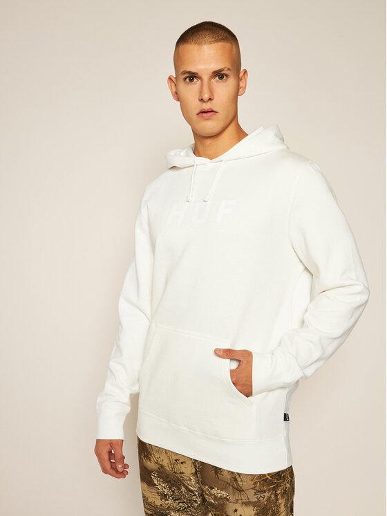 HUF Džemperis Essentials Og Logo PF00099 Smėlio Regular Fit