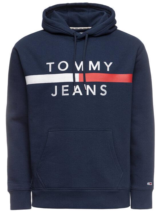 Tommy Jeans Tommy Jeans Felpa Tjm Reflective Flag DM0DM07410 Blu scuro Regular Fit