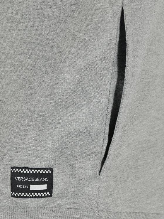 Versace Jeans Versace Jeans Mikina B6HTB777 Sivá Regular Fit