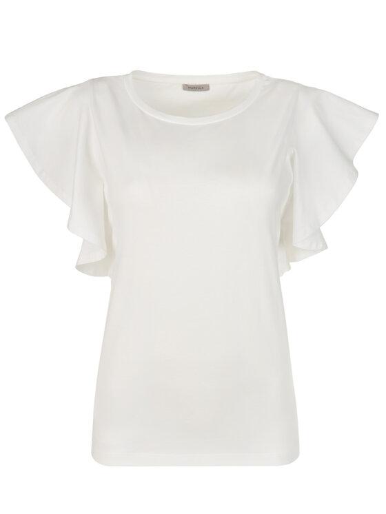 Marella Marella T-Shirt 39710792 Bílá Straight Fit