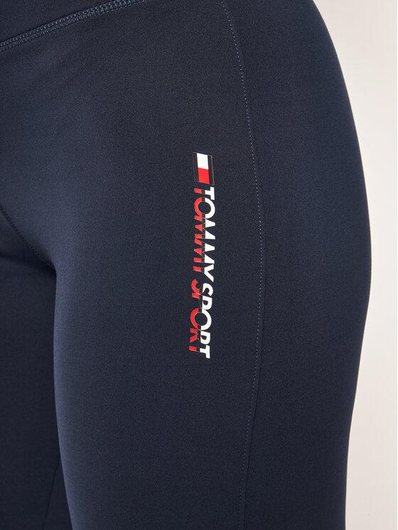 Tommy Sport Tommy Sport Κολάν Glow S10S100420 Σκούρο μπλε Regular Fit