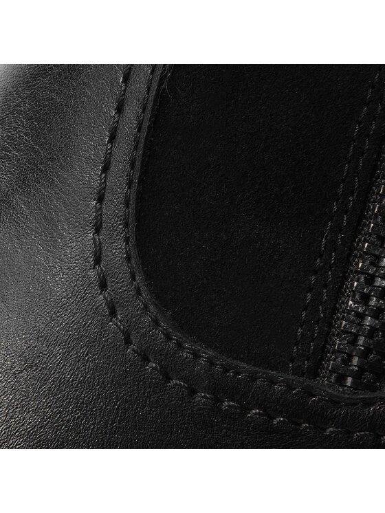 Caprice Caprice Polokozačky 9-25319-21 Černá