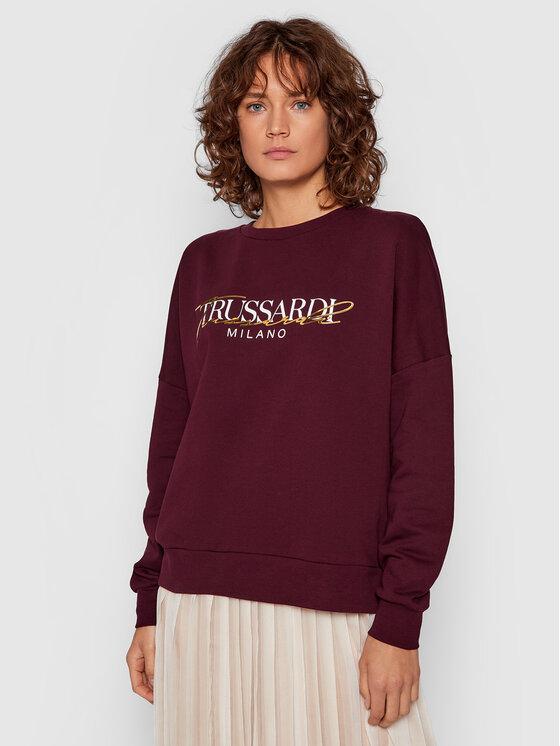 Trussardi Džemperis 56F00167 Violetinė Regular Fit