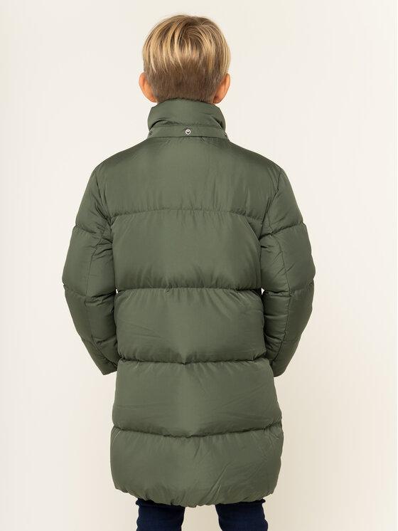 TOMMY HILFIGER TOMMY HILFIGER Μπουφάν πουπουλένιο Oversize KB0KB05306 Πράσινο Regular Fit