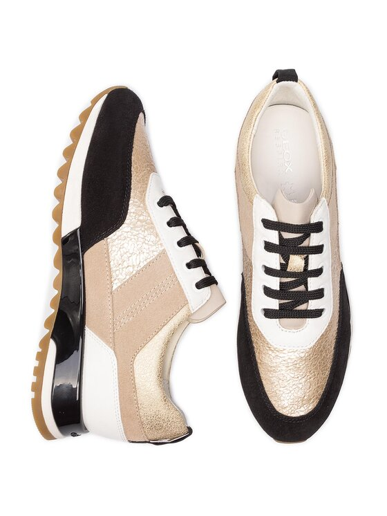 Geox Geox Sneakersy D Tabelya B D84AQB 0KY22 C0950 Zlatá