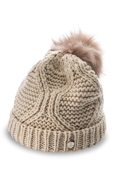 Guess Guess Czapka Not Coordinated Wool AW6801 WOL01 M Beżowy