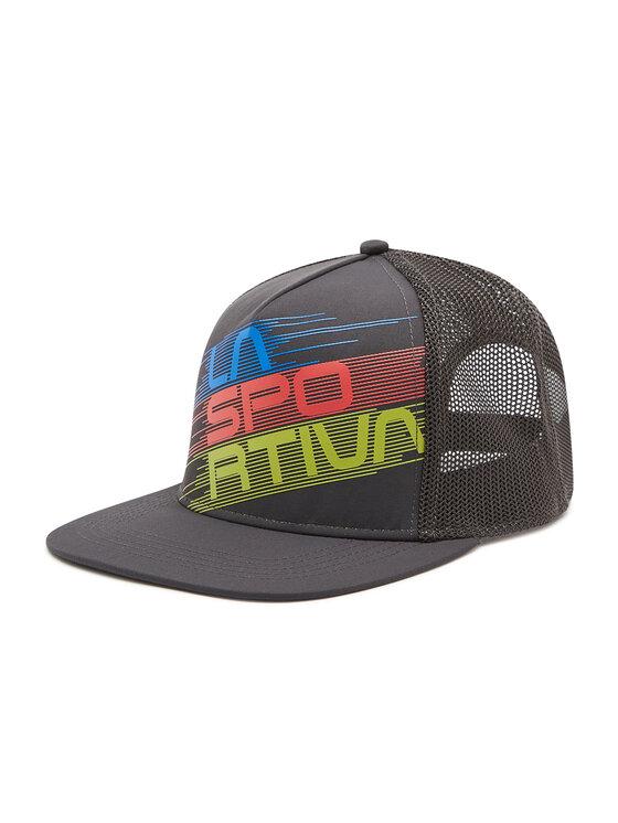 La Sportiva Kepurė su snapeliu Trucker Hat Stripe Y41900900 Pilka