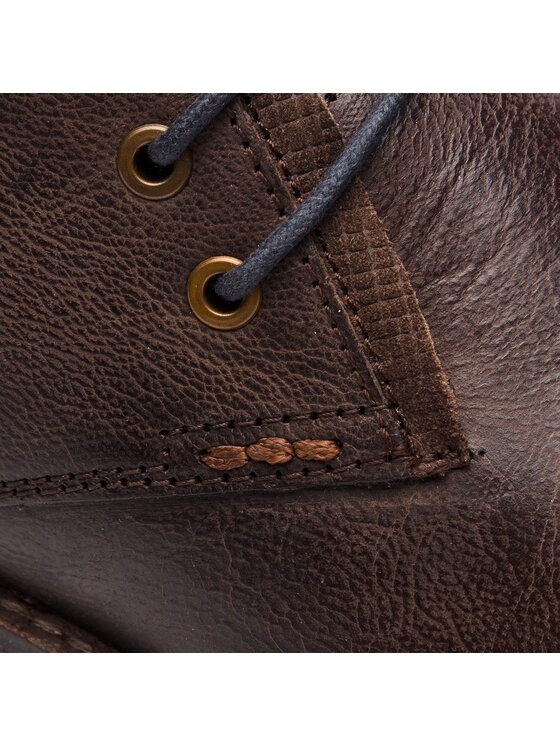 Wrangler Wrangler Kotníková obuv Boogie Desert WM182044 Hnědá