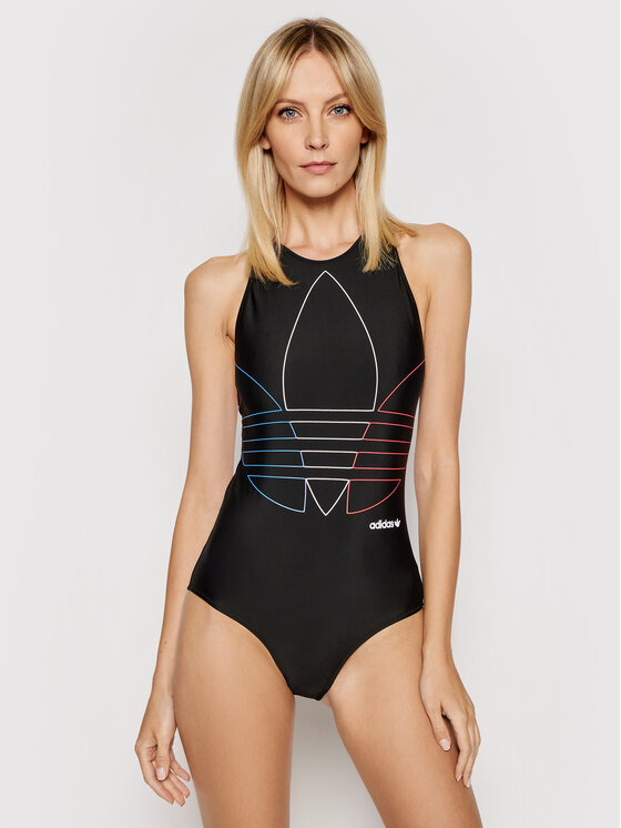 adidas adidas Strój kąpielowy GN2936 Czarny