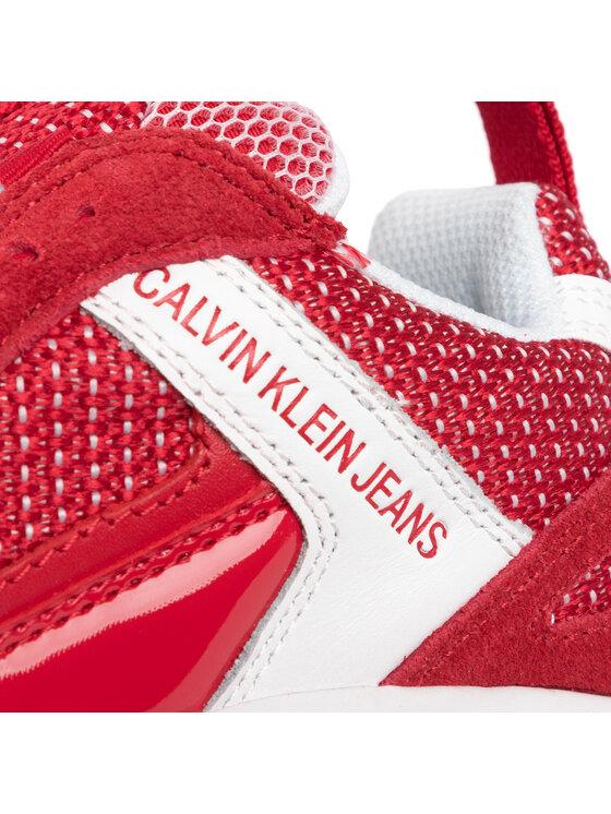 Calvin Klein Jeans Calvin Klein Jeans Sneakersy Maya B4R0823 Červená
