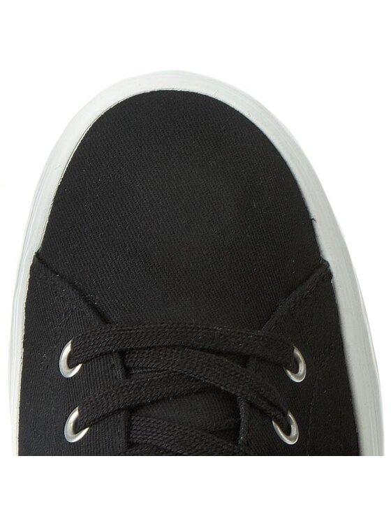Armani Jeans Armani Jeans Sneakers aus Stoff C6540 15 12 Schwarz