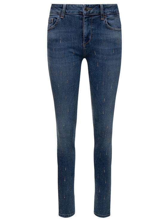 Liu Jo Liu Jo Prigludę (Slim Fit) džinsai U69003 D4387 Tamsiai mėlyna Slim Fit