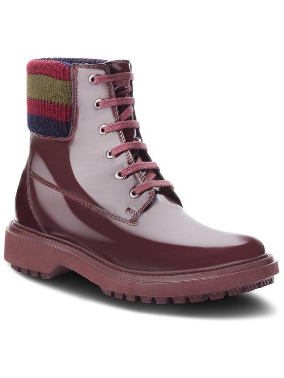 Geox Geox Ορειβατικά παπούτσια A Asheely B D847AB 000BC C7357 Μπορντό
