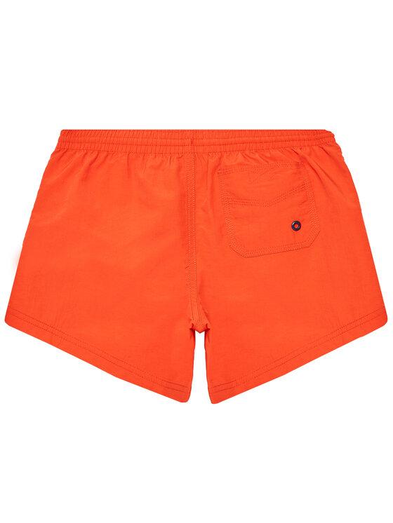 Guess Guess Szorty kąpielowe L1GZ01 TEL27 Czerwony Regular Fit