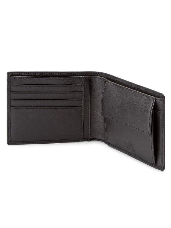 Baldinini Baldinini Veľká pánska peňaženka 676036DAPE17 Čierna