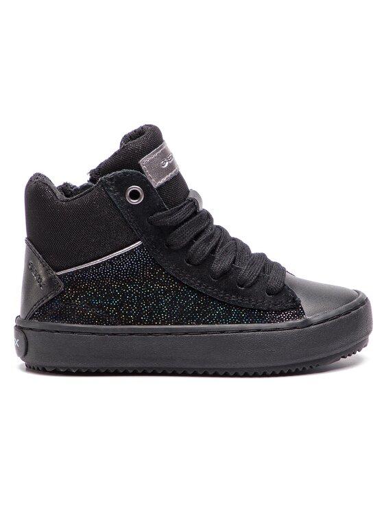 Geox Geox Laisvalaikio batai J Kalispera G. D J844GD 0TCBC C9999 M Juoda