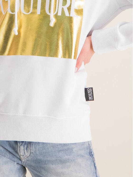 Versace Jeans Couture Versace Jeans Couture Bluză B6HVA71T Alb Regular Fit
