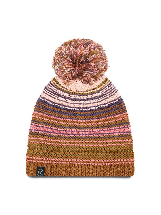 Buff Kepurė Kinitted & Fleece Hat Neper 113586.512.10.00 Žalia