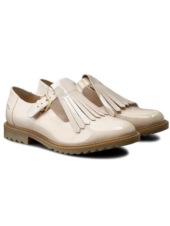 Clarks Clarks Oksfordo batai Griffin Mia 261156444 Smėlio