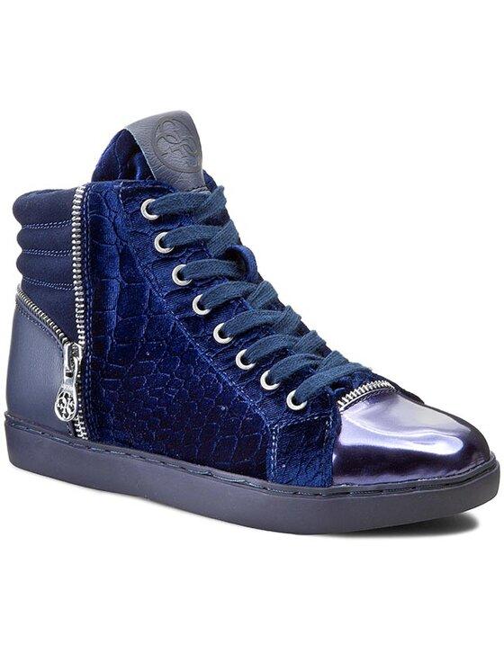 Guess Guess Sneakersy Rizel2 FL4RI2 FAP12 Tmavomodrá