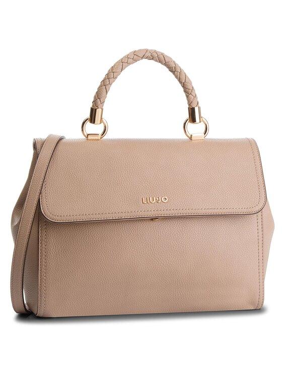 Liu Jo Liu Jo Дамска чанта M Top Handle Manhat A68096 E0011 Бежов