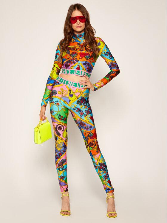 Versace Jeans Couture Versace Jeans Couture Bluză B2HZA736 Colorat Slim Fit