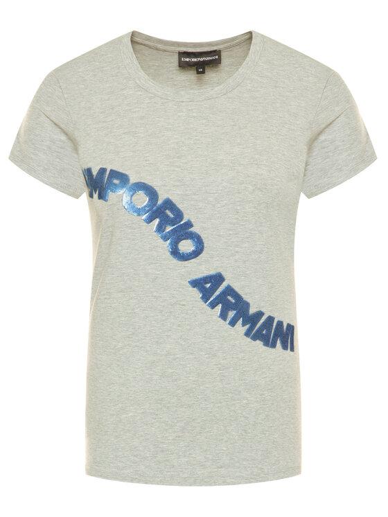 Emporio Armani Emporio Armani T-Shirt 3H2T6F 2JQAZ 0616 Szary Regular Fit