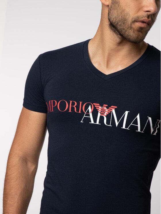 Emporio Armani Underwear Emporio Armani Underwear T-Shirt 110810 9P516 00135 Granatowy Slim Fit