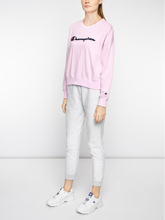 Champion Champion Sweatshirt 111384 Rosa Oversize