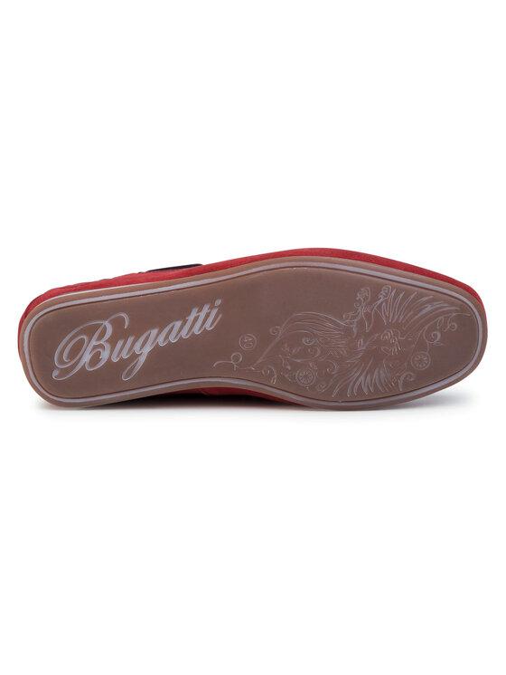 Bugatti Bugatti Mokasyny 321-70462-1400-3000 Czerwony