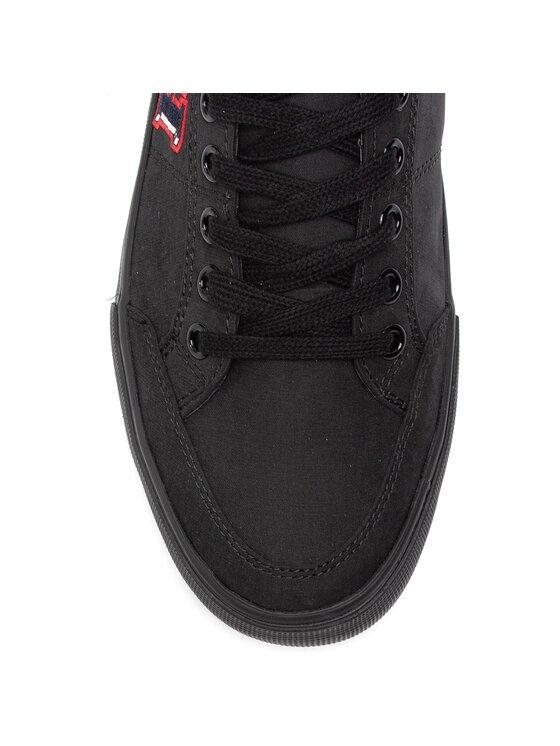 Tommy Hilfiger Tommy Hilfiger Гуменки Core Corporate Seasonal Sneaker FM0FM02168 Черен
