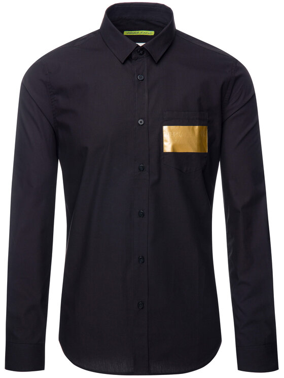 Versace Jeans Versace Jeans Camicia B1GTB6S4 Nero Slim Fit