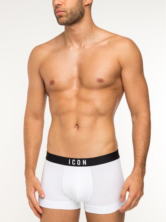 Dsquared2 Underwear Dsquared2 Underwear Boxerky D9LC62070 Biela