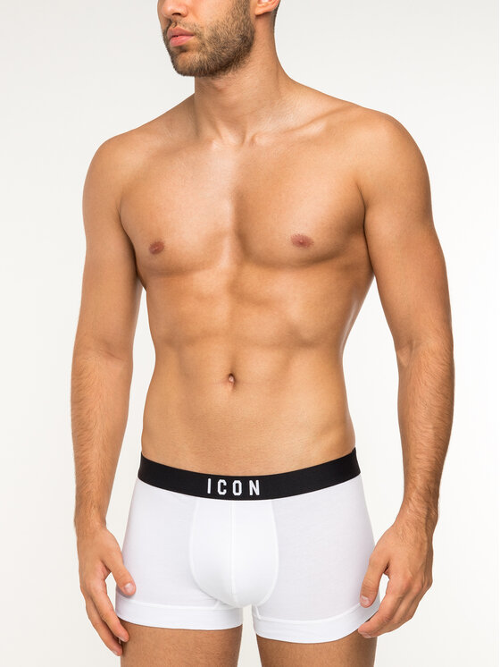 Dsquared2 Underwear Dsquared2 Underwear Μποξεράκια D9LC62070 Λευκό