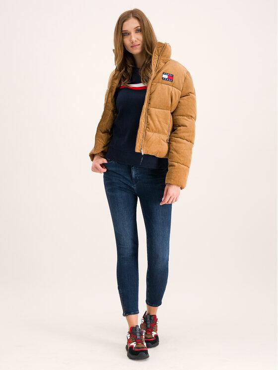 Tommy Jeans Tommy Jeans Doudoune Corduroy DW0DW07102 Marron Regular Fit