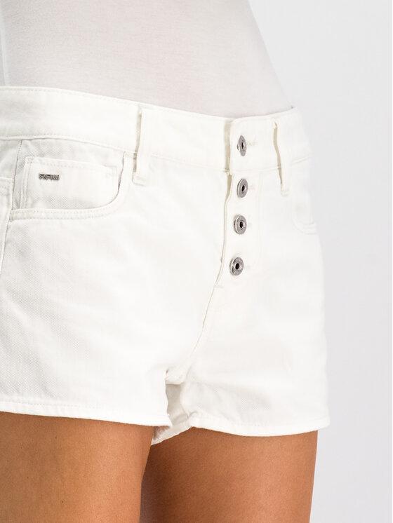 G-Star RAW G-Star RAW Pantaloni scurți de blugi D14340-B078-111 Alb Regular Fit