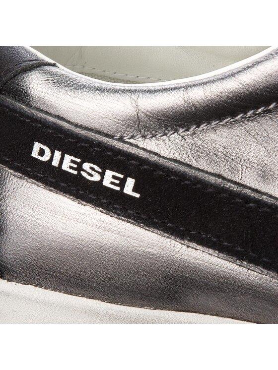 Diesel Diesel Sneakersy D-String Low Y01641 P1649 H1758 Szary