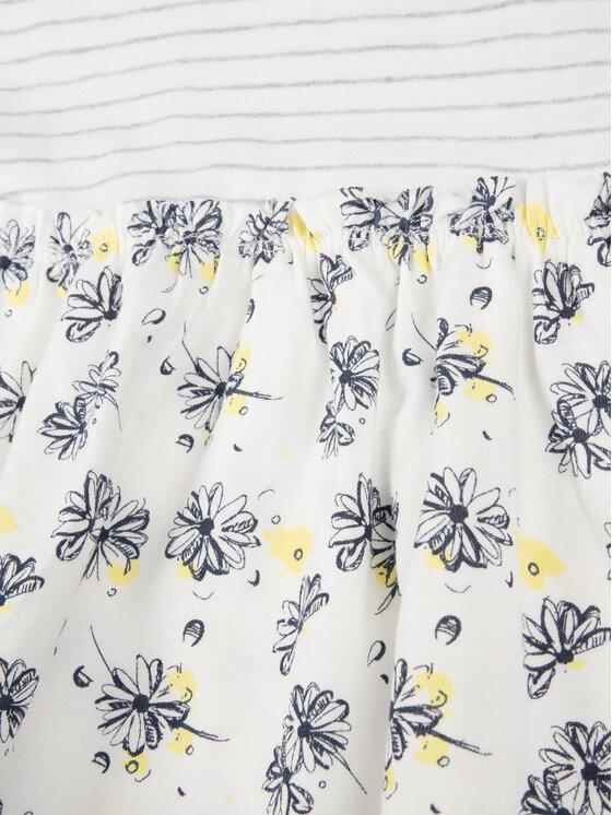 Primigi Primigi Kleid für den Alltag Little Gipsy Soul 43111521 Weiß Regular Fit