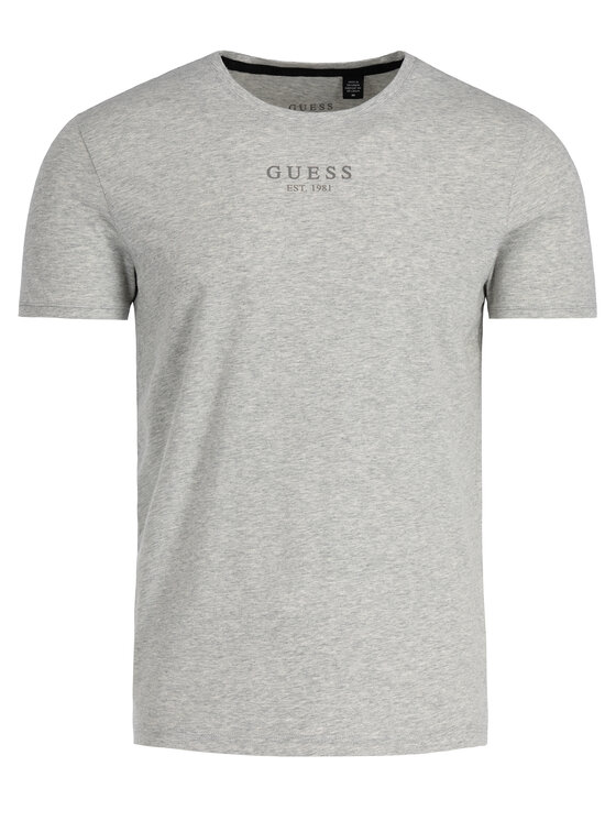 Guess Guess T-Shirt U94M00 JR00A Šedá Regular Fit