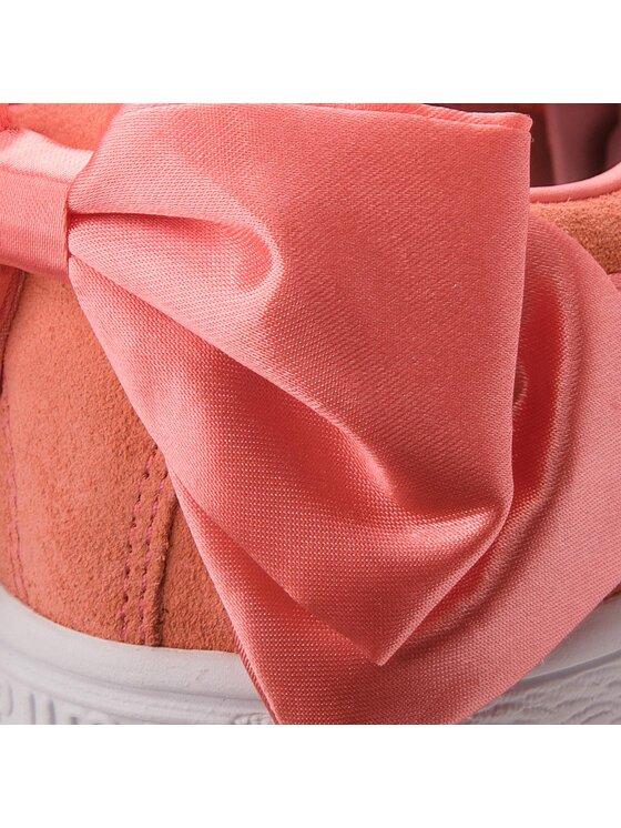 Puma Puma Laisvalaikio batai Suede Bow Jr 367316 01 Oranžinė