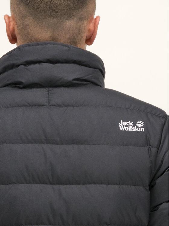Jack Wolfskin Jack Wolfskin Kurtka puchowa Helium High 1204411-6350 Czarny Regular Fit