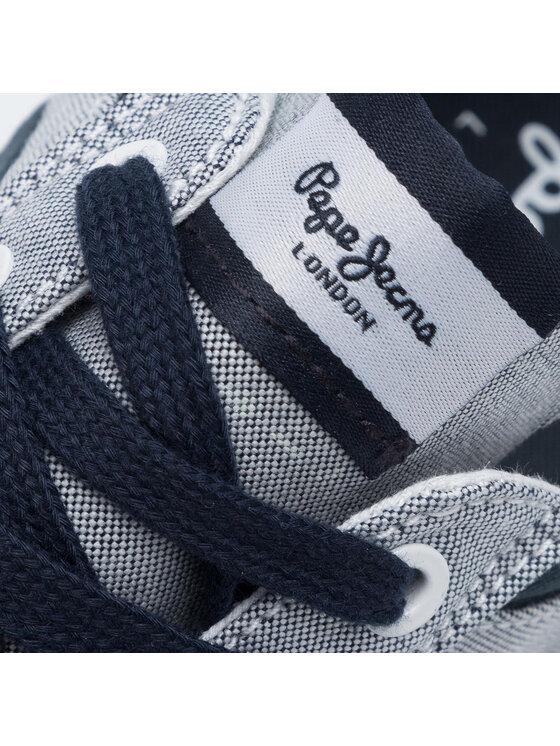 Pepe Jeans Pepe Jeans Tenisówki Kenton Sport PMS30600 Szary